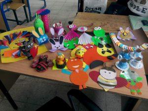 Cd Animals Craft Ideas