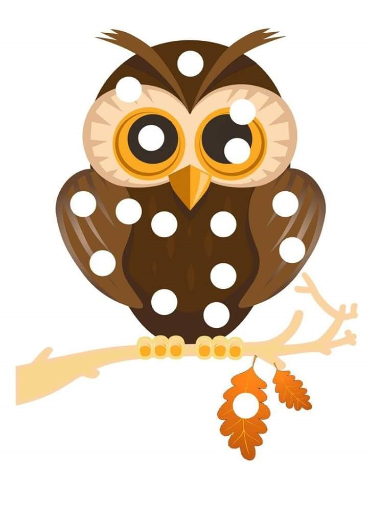 Autumn Owl Do A Dot Pages 171 Preschool And Homeschool