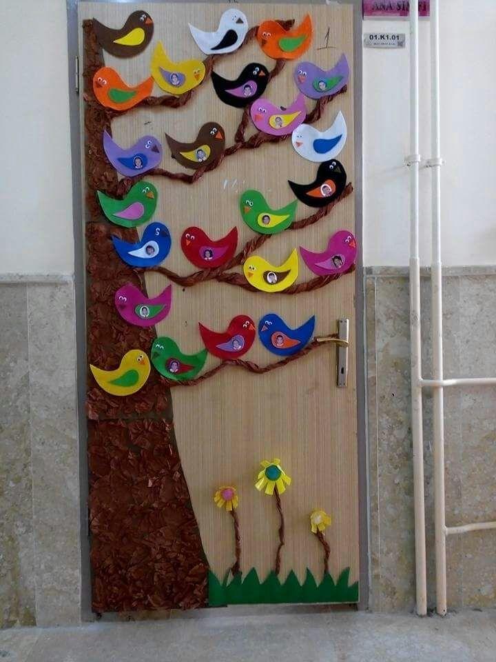 bird-door-decoration-for-preschool