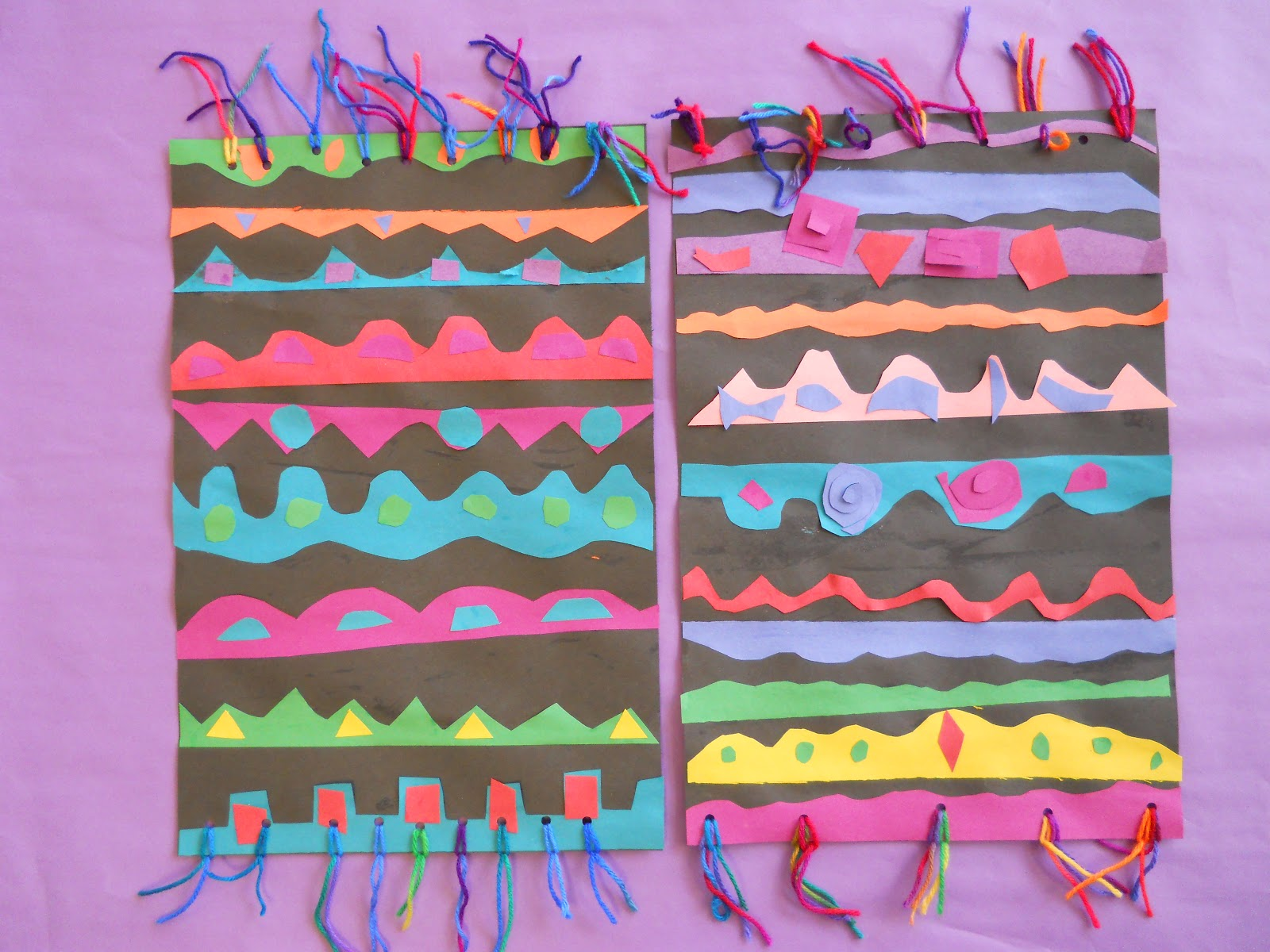Weaving Craft For Preschoolers Funny Crafts