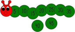 caterpillar-skip-counting