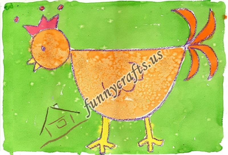 chicken-art-activity