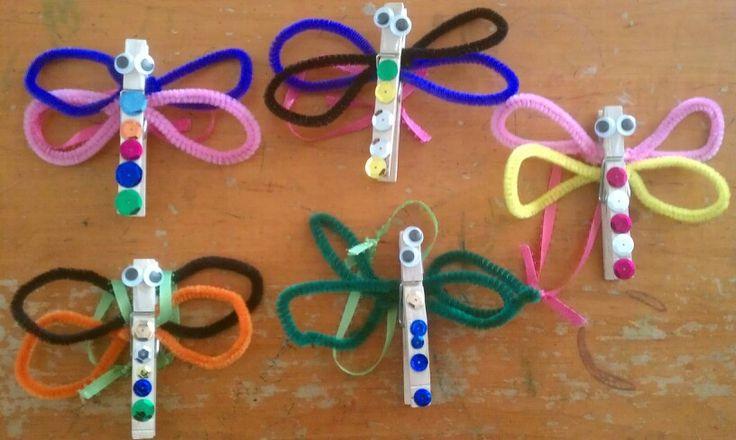 Clothespin Dragonfly Crafts 3 on Animal Alphabet Do A Dot Printables