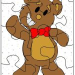 Puzzle piece coloring pages