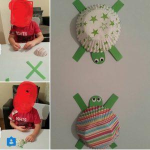 cop-cake-turtle-craft-idea