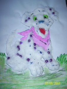 cotton-ball-dog-crafts-for-kids