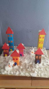 cotton-snowman-craft