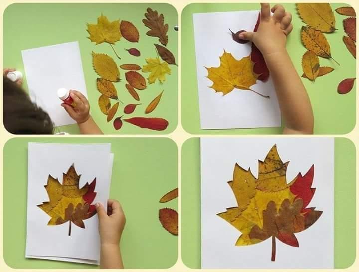 Creative Leaf Crafts For Kids Funnycrafts