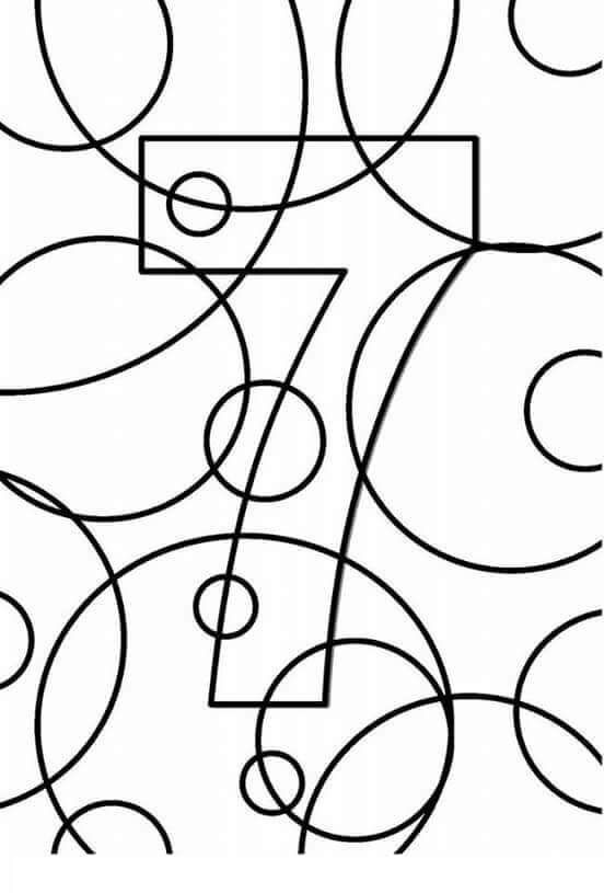 number 7 coloring pages for preschool | creative-number-7-coloring-pages « Preschool and Homeschool