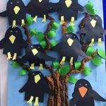 Crow craft ideas for preschool