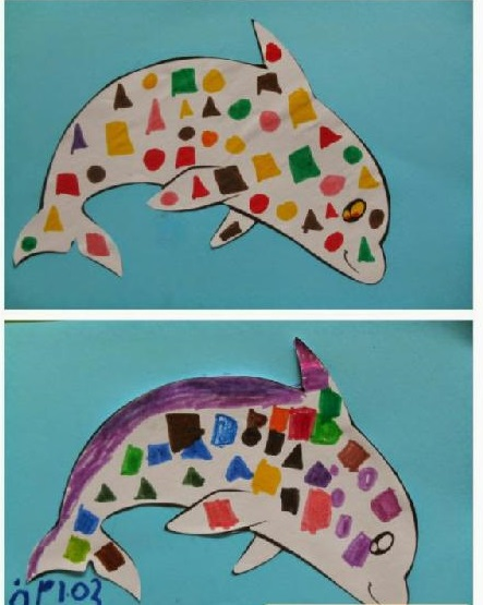 Dolphin Craft Idea For Kids Funny Crafts