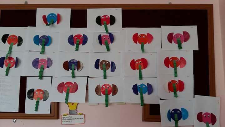 Elephant Craft Idea For Preschoolers