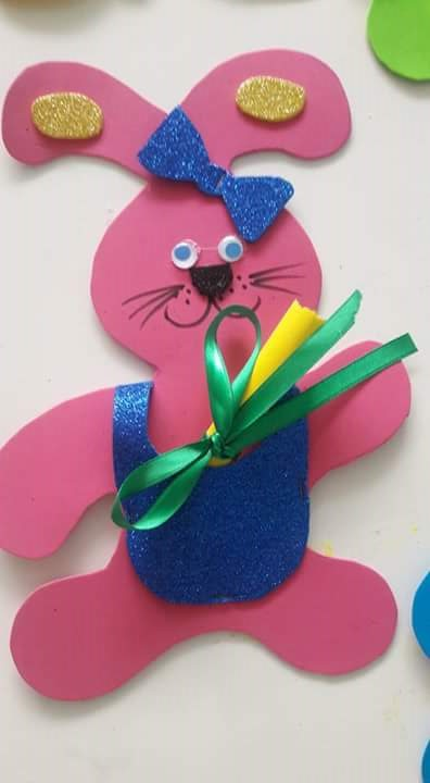 foam crafts ideas foam bunny crafts 1 171 preschool and homeschool 2039
