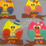 Owl craft ideas for preschool