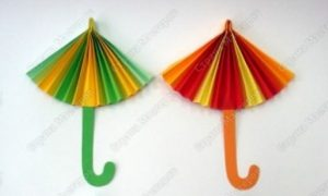 folding-paper-umbrella-crafts-for-kids
