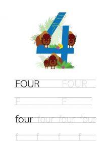 free-handwriting-number-4-four-worksheets-for-preschool-and-kindergarten