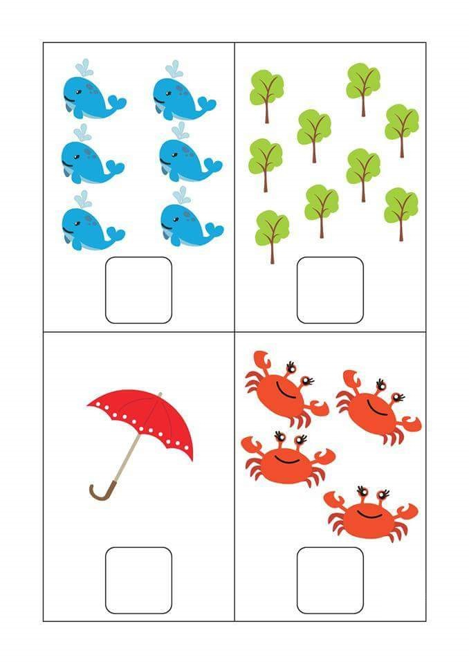 Simple Math Worksheets For Preschoolers : Free preschool kindergarten simple math worksheets