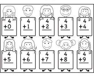 Kindergarten Math Worksheets on art shapes