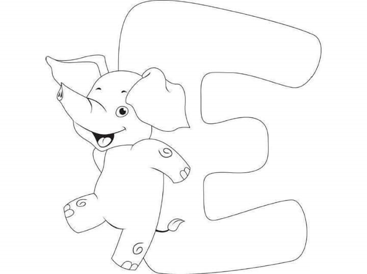 Free-printable-letter-e-elephant-coloring-pages-for-kids