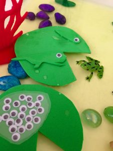 frog-sensory-bin
