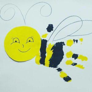 handprint-bee-art