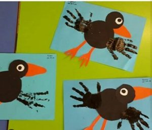 handprint-crow-art-activity