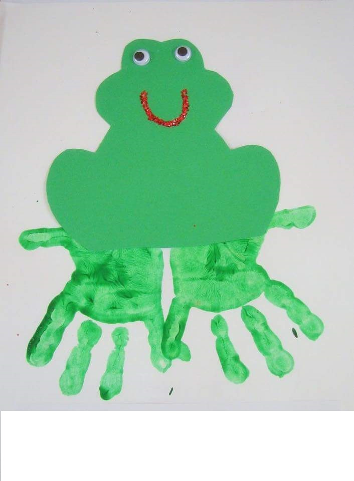 handprint-frog-art