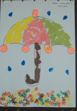 Kids Umbrella Crafts Fun 1 171 Preschool And Homeschool