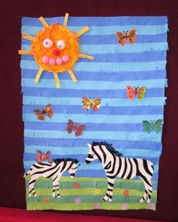 kids-zebra-craft