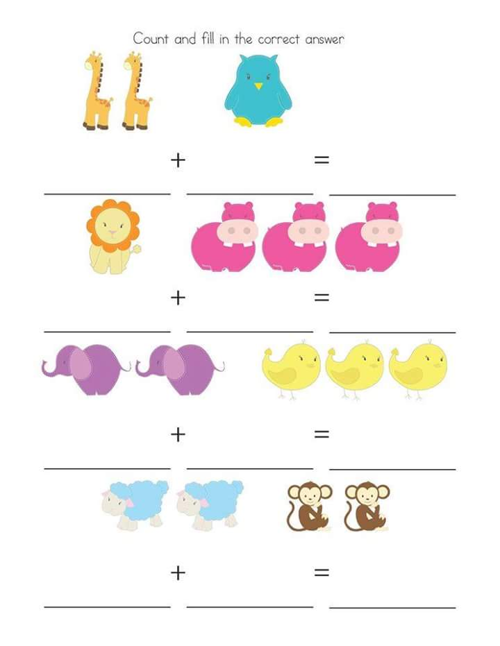 Free printable subtraction worksheets for kindergarten