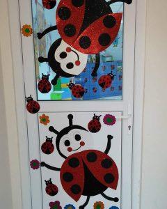 ladybug-door-decoration