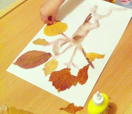 leaf-print-art