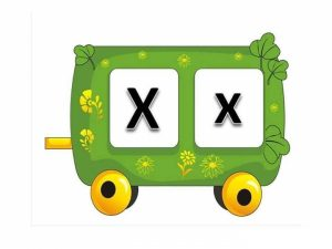 learn-letter-x-with-the-train