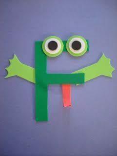 letter f crafts for preschool  funnycrafts