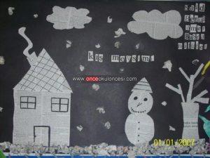 news-paper-winter-craft