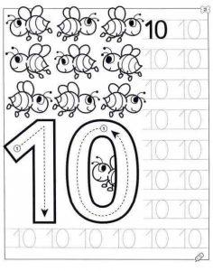 number-ten-tracing