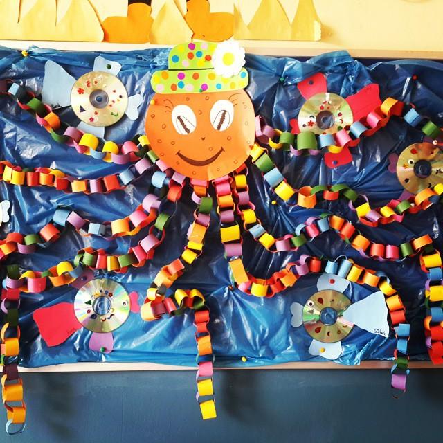Science Classroom Decorations For Primary ~ Octopus bulletin board idea « preschool and homeschool