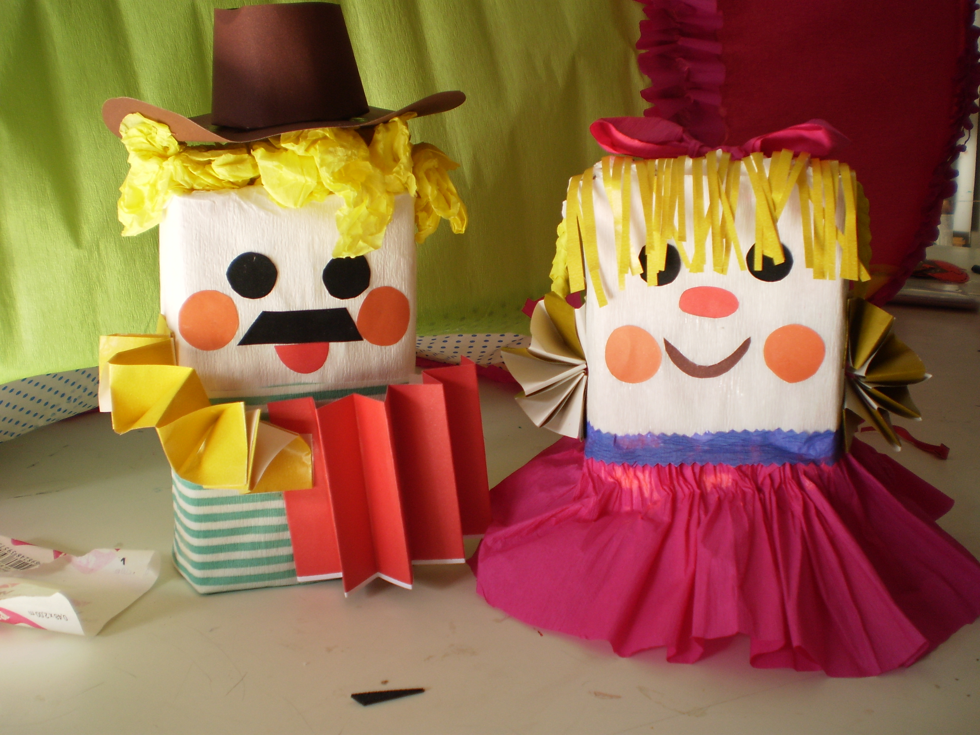 Photo of Milk carton puppet crafts for kids