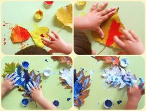 painting-leaves-crafts