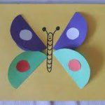 Butterfly craft idea for preschoolers
