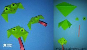 paper-frog-craft-idea