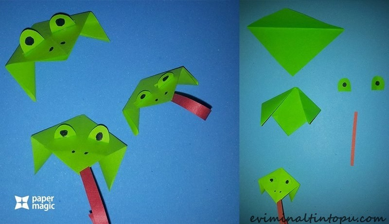 paper-frog-craft-idea