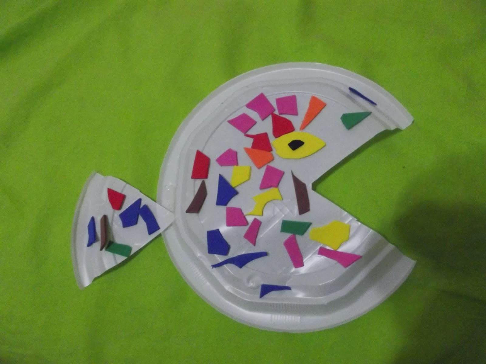 paper plate fish craft gallery craft decoration ideas