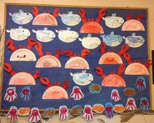paper-plate-crab-bulletin-board-ideas
