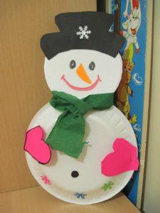 paper-plate-snowman-craft