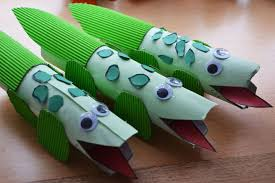 paper-roll-crocodile-craft-idea-1