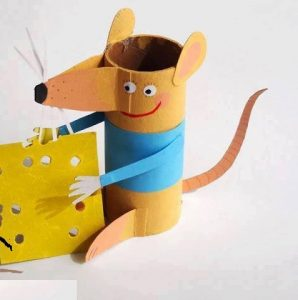 paper-roll-mouse-craft
