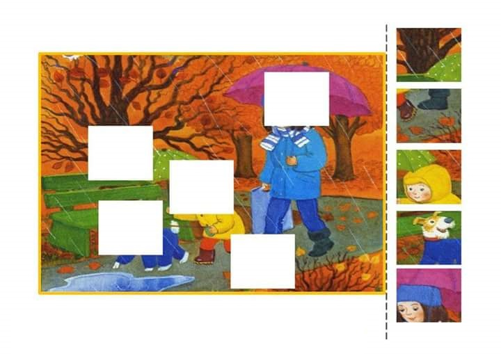 Photo of Find missing piece activities for kids