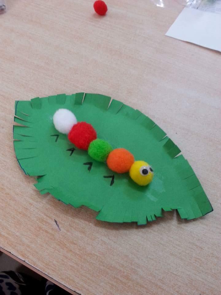 Very Hungry Caterpillar Craft Preschool