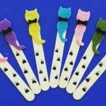 Pop stick craft for kids